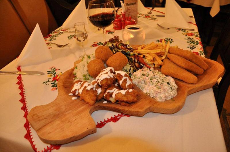 Vegetarische Platte. Foto: Hungarikum