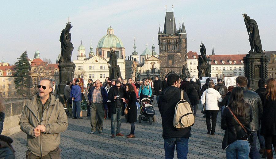 Die Karlsbrücke: nicht mehr ganz so alternativer Touri-Magnet