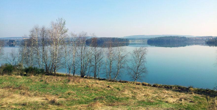 Steinberger-See-Ufer