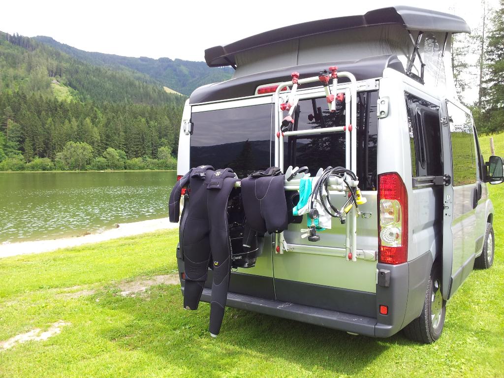 Grüner See Tragöß: Camping Freizeitsee Zenz