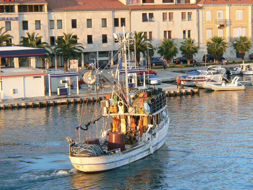 Zadar-Fischerboot
