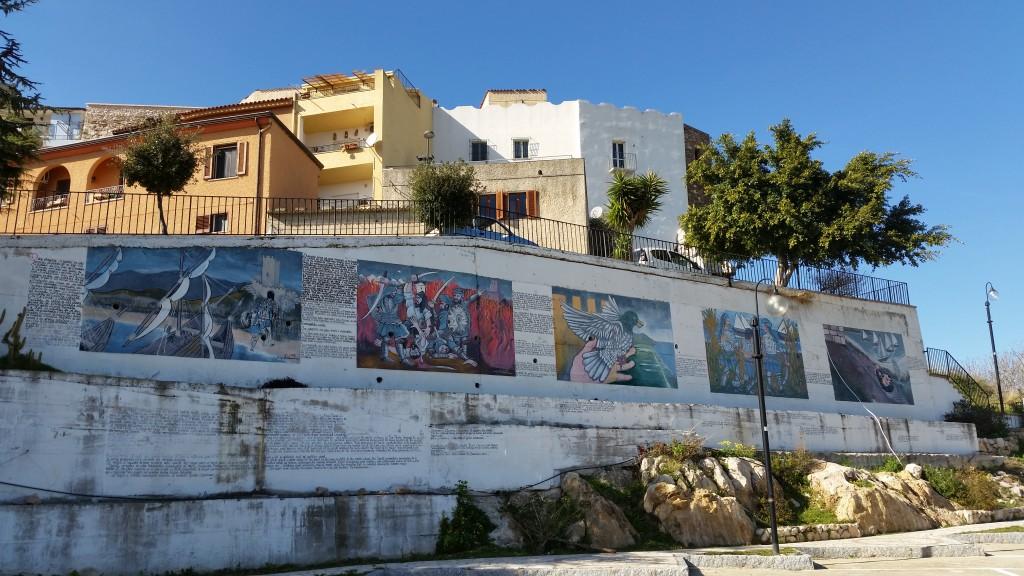 Posada, Gemälde der Stadtgeschichte