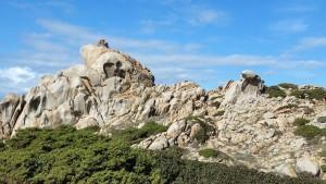 Felsen am Capo Testa, Sardinien
