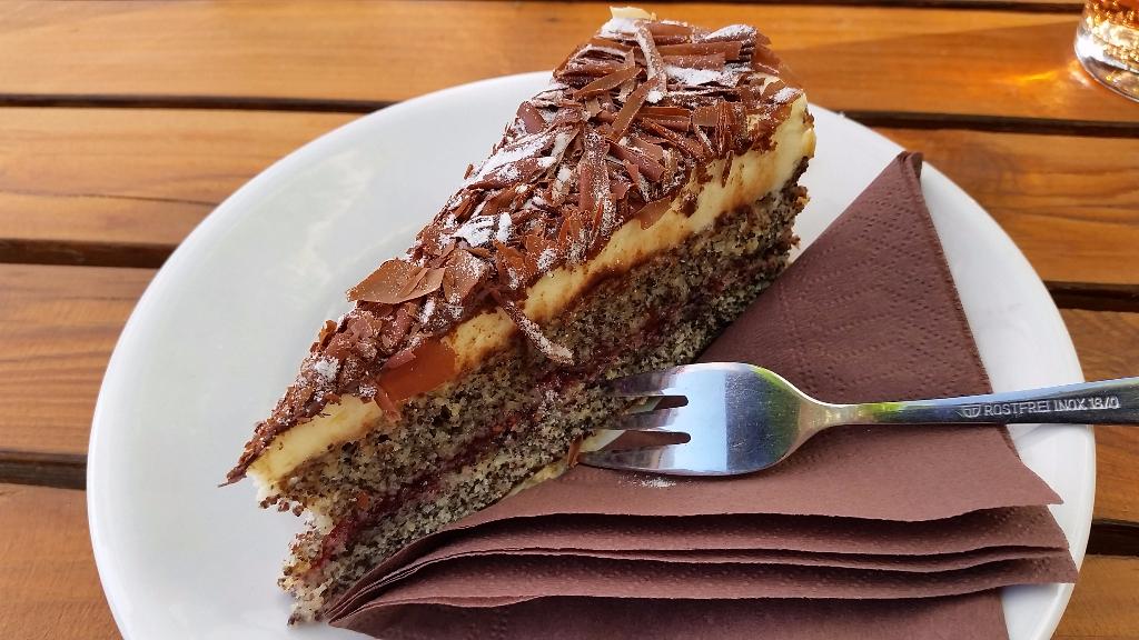 Kuchen Rhabarberschorle