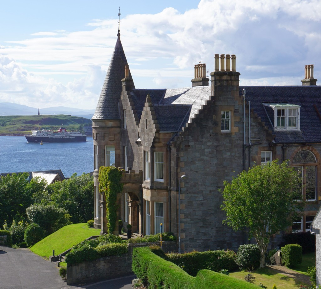 Oban - View from McCaig's Tower