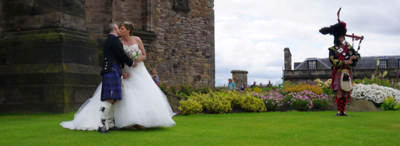 Edinburgh Castle - wedding