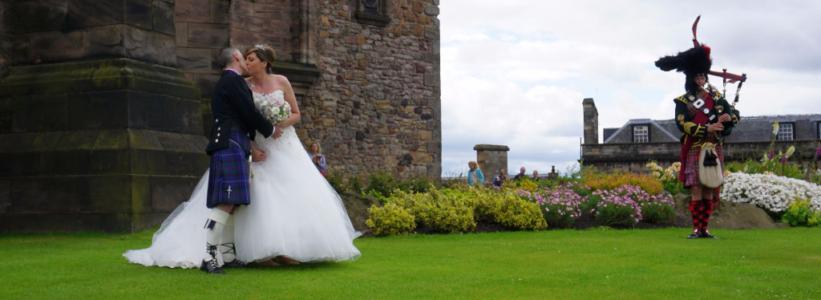 Edinburgh Castle - wedding