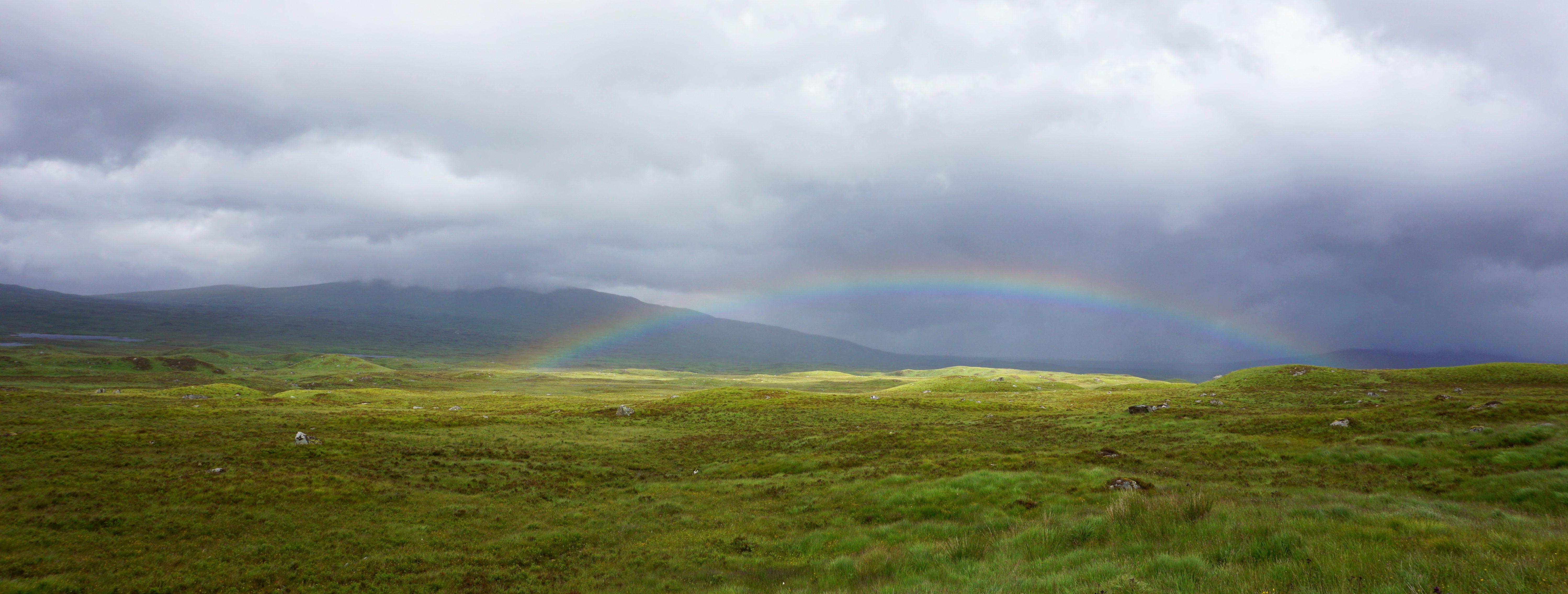 Glen Coe Schottland Regenbogen