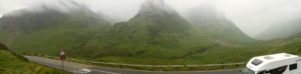 Glencoe Valley - Schottland - Rundreise - Camping (1)